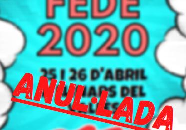 FESTA FEDE ANUL·LADA